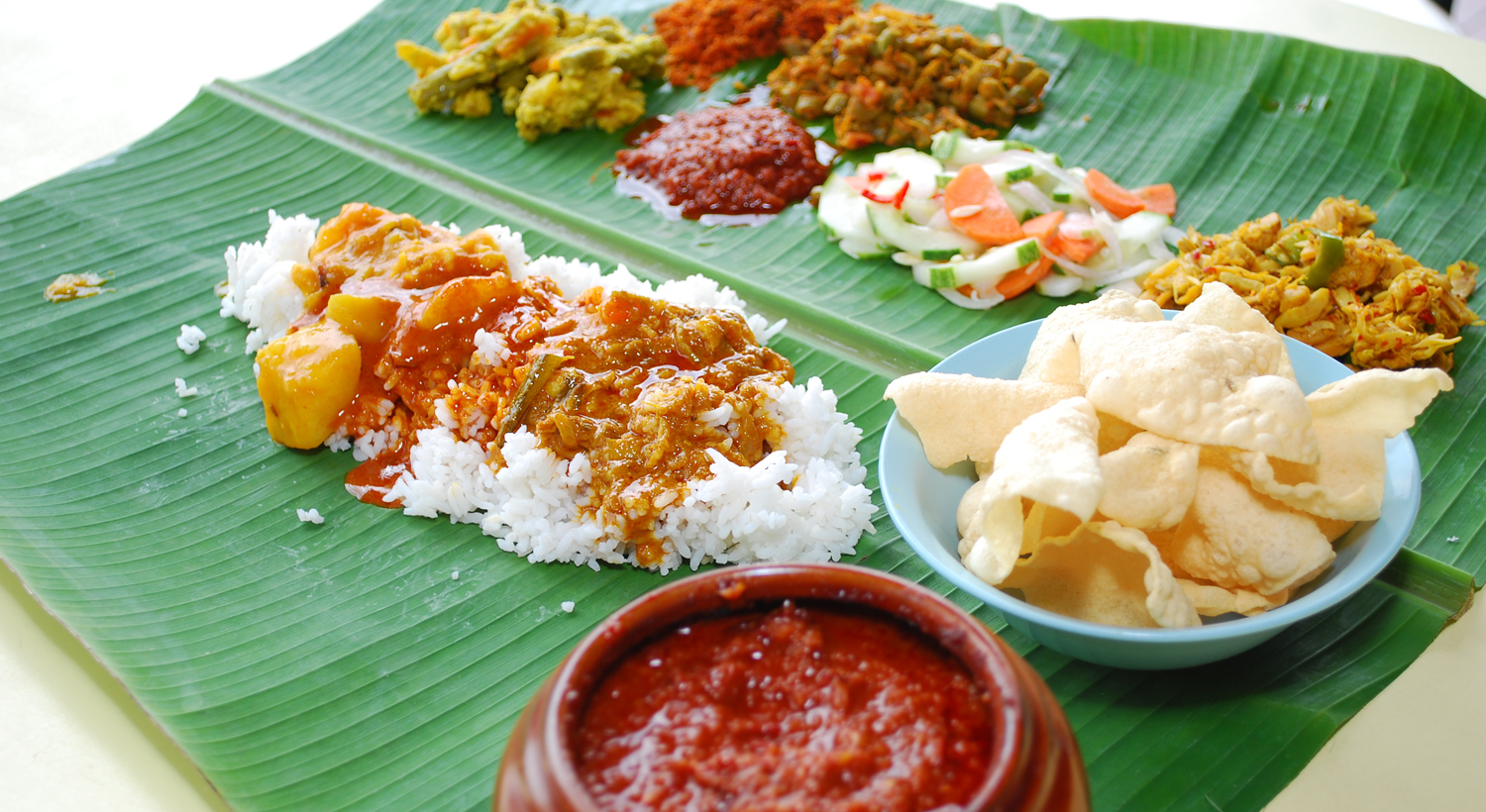 Banana Leaf Food Pictures