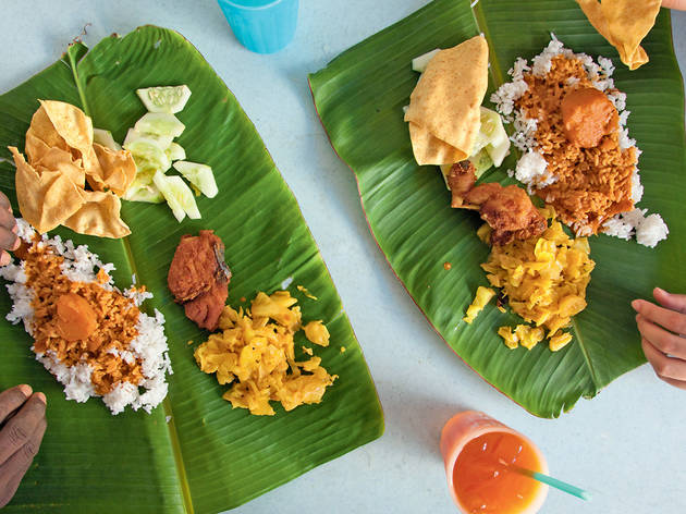 Best banana leaf restaurants in KL