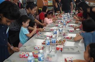 Felt-themed children jewellery workshop