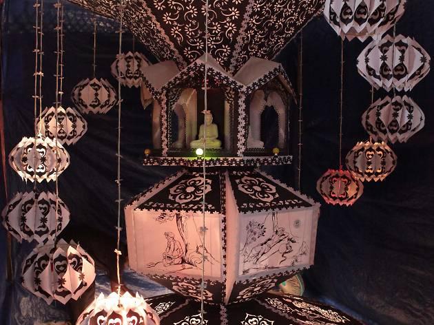 Vesak is a religious festival in Sri Lanka