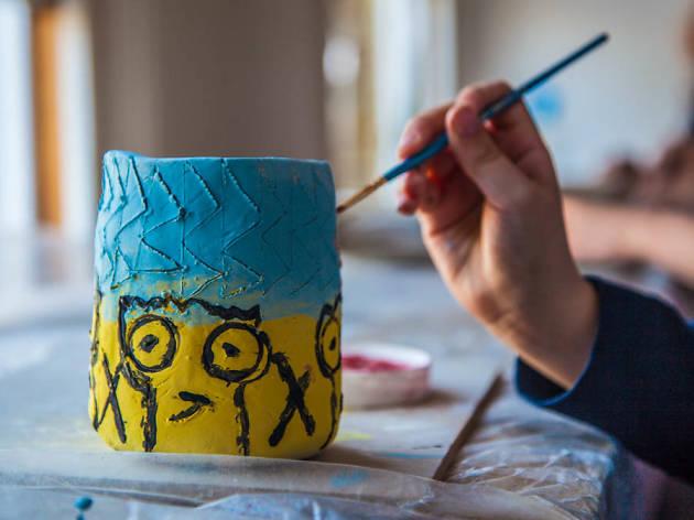 Ceramics Family Wildlife Workshop