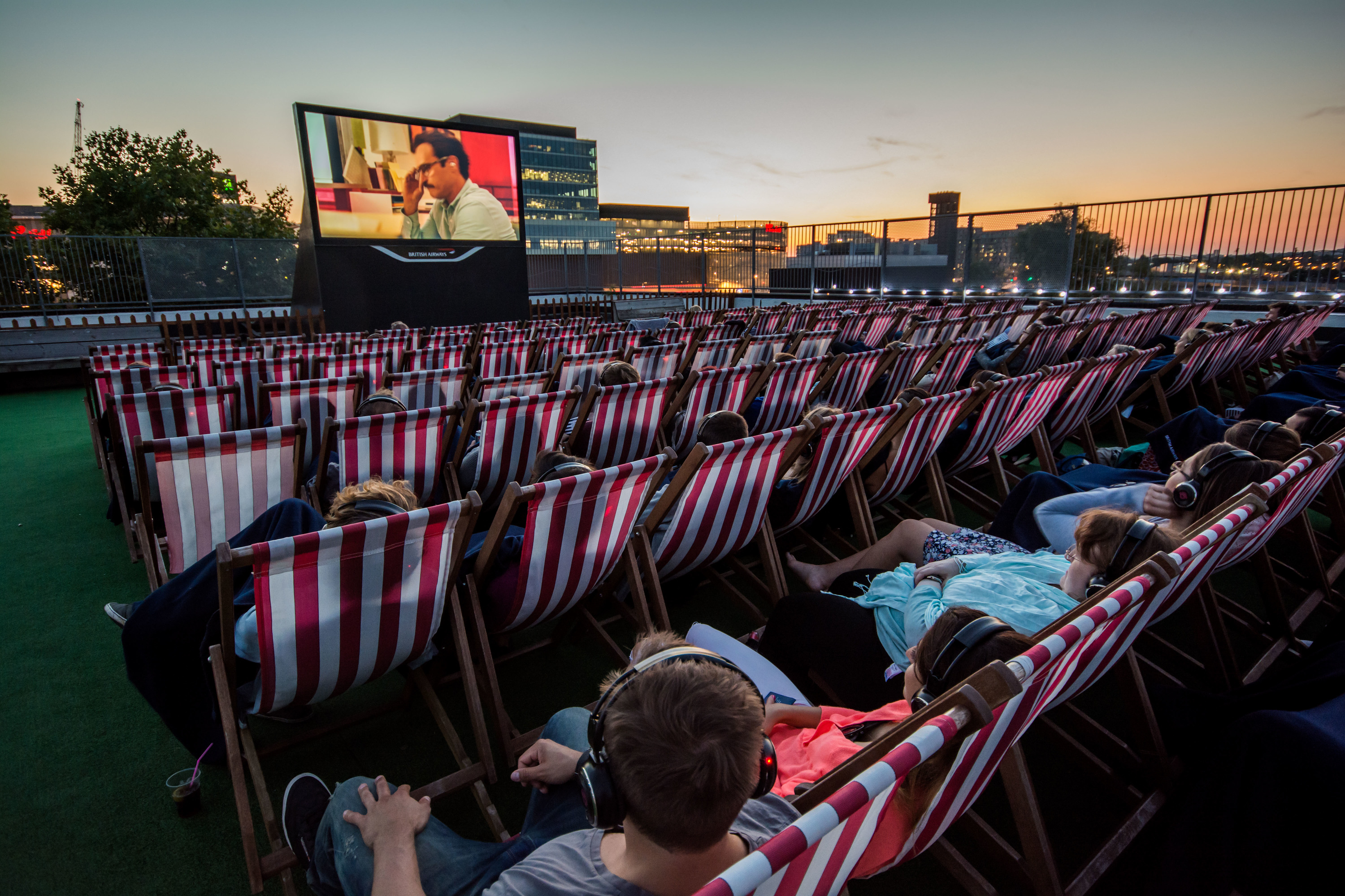Movies in the park and summer outdoor screenings