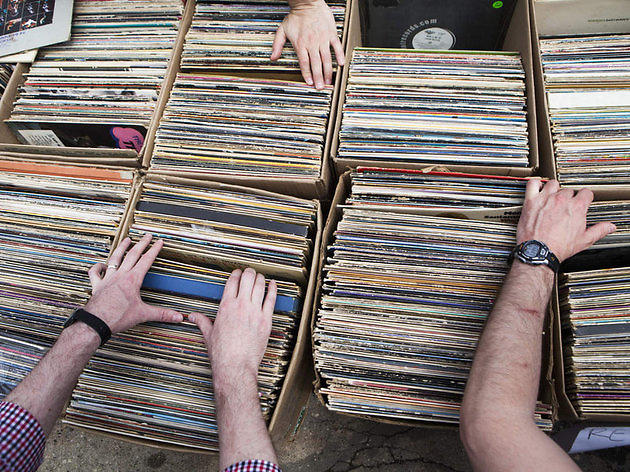 Red Bull Music Academy: Brooklyn Flea Record Fair