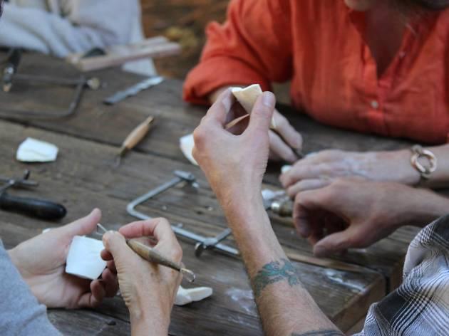 Activities at Camp ArtSeen revolve around creativity and art.
