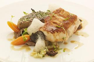 Gordon Grill - sakura chicken with foie gras