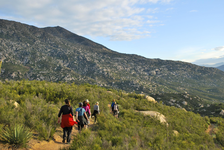 Hiking at Rancho La Puerta