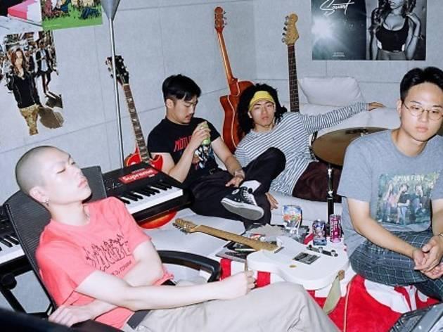 밴드 혁오(서울 재즈 페스티벌, 레인보우 아일랜드, 안산 M 밸리 록)