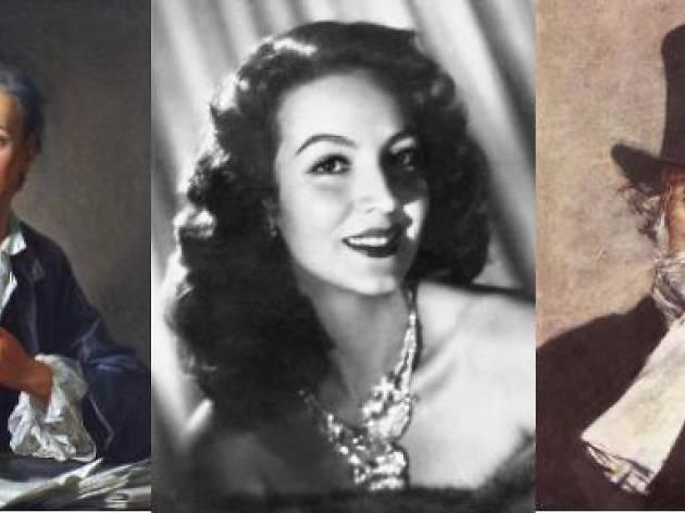 'Encontros imaginaris: Denis Diderot, Maria Félix y Giuseppe Verdi'