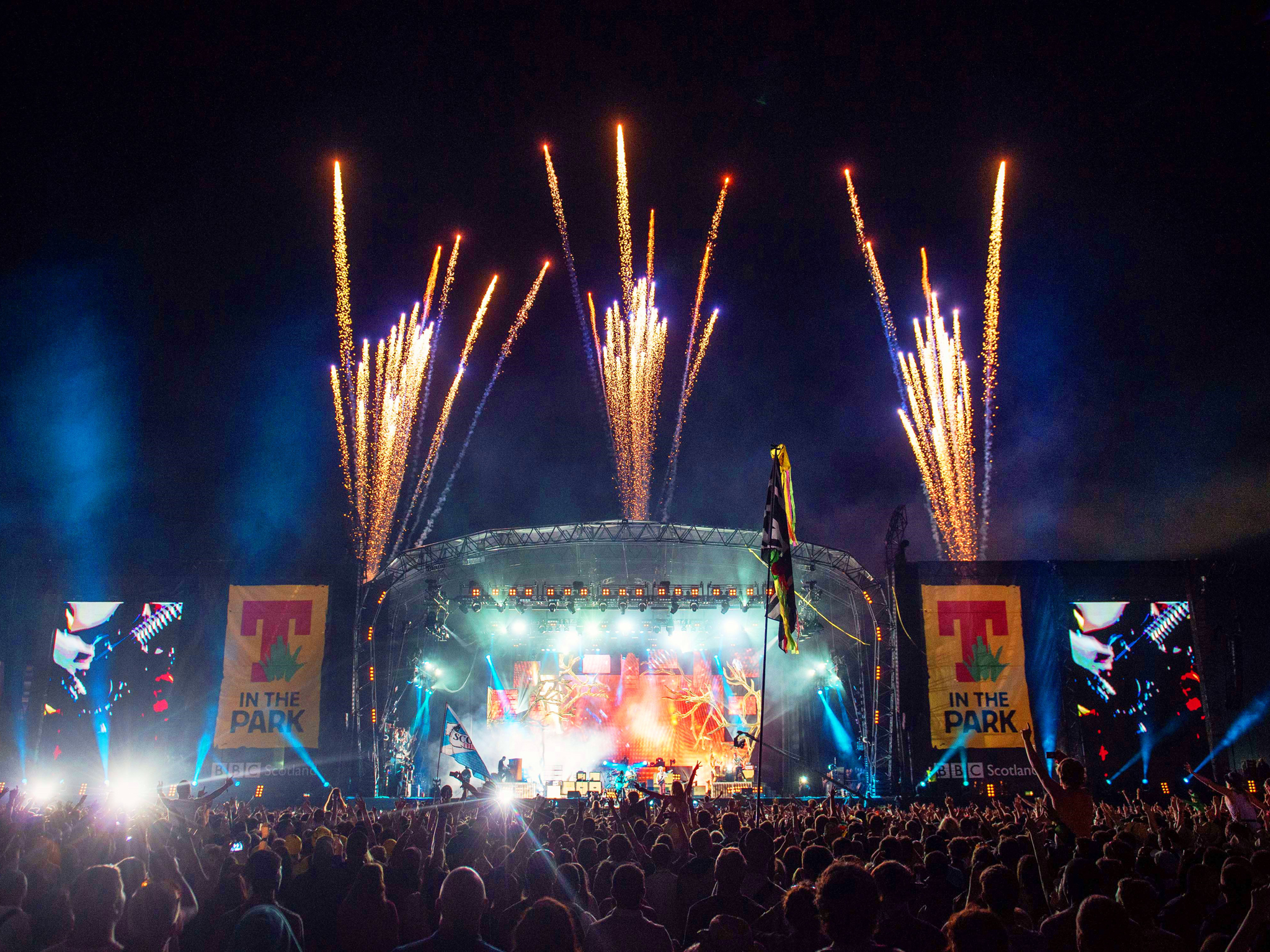 Win one of two pairs of VIP weekend camping tickets to T in the Park 2015