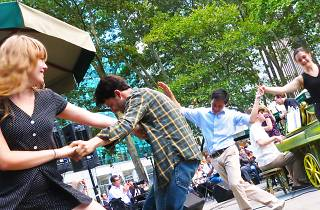 Get your dancing shoes on: Bryant Park is hosting a summer dance series!