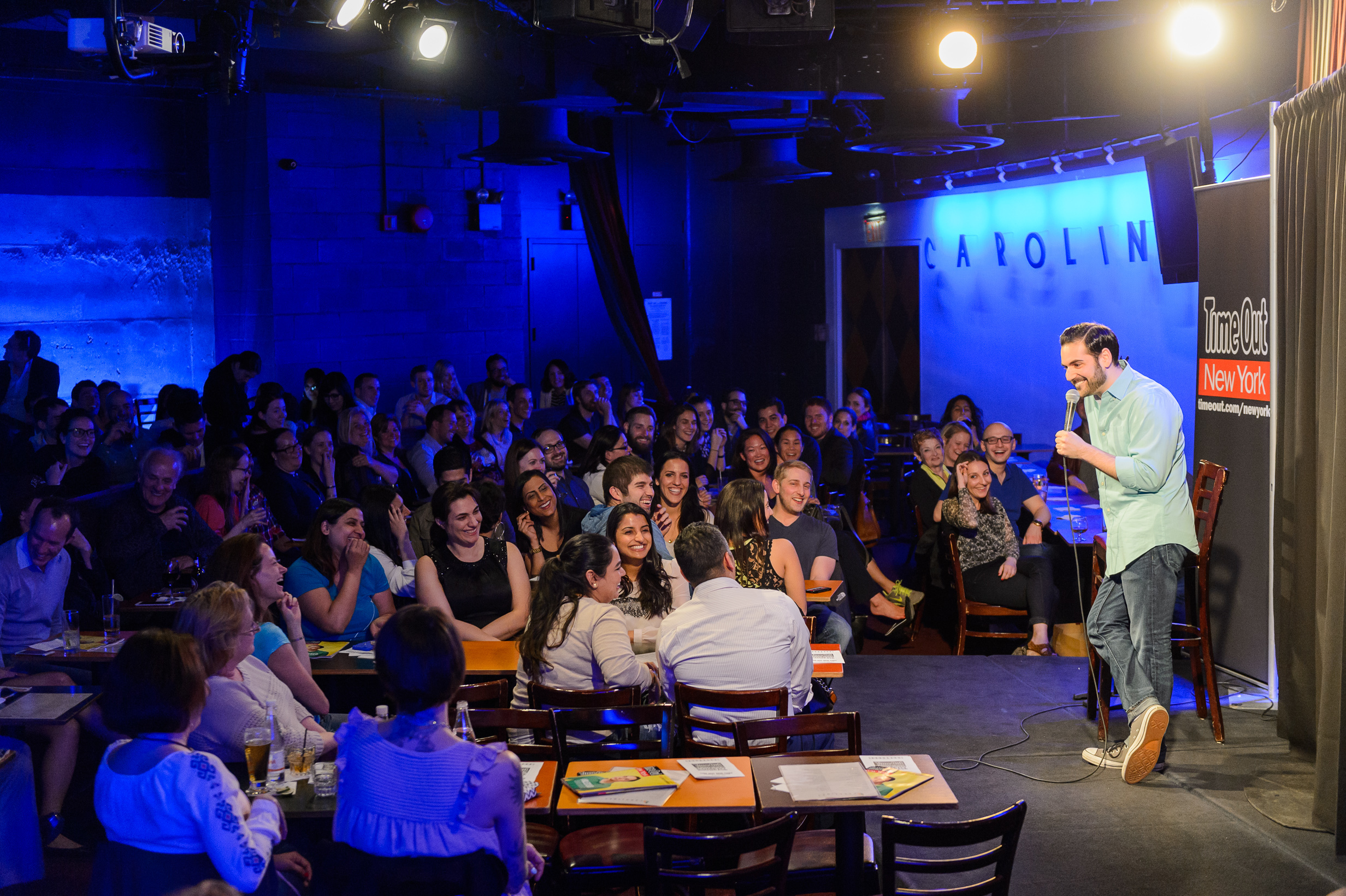Here's what happened at last night's Time Out New York Comedy Showcase