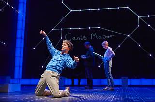 Joshua Jenkins (Christopher) in The Curious Incident of the Dog in the Night-Time UK Tour production