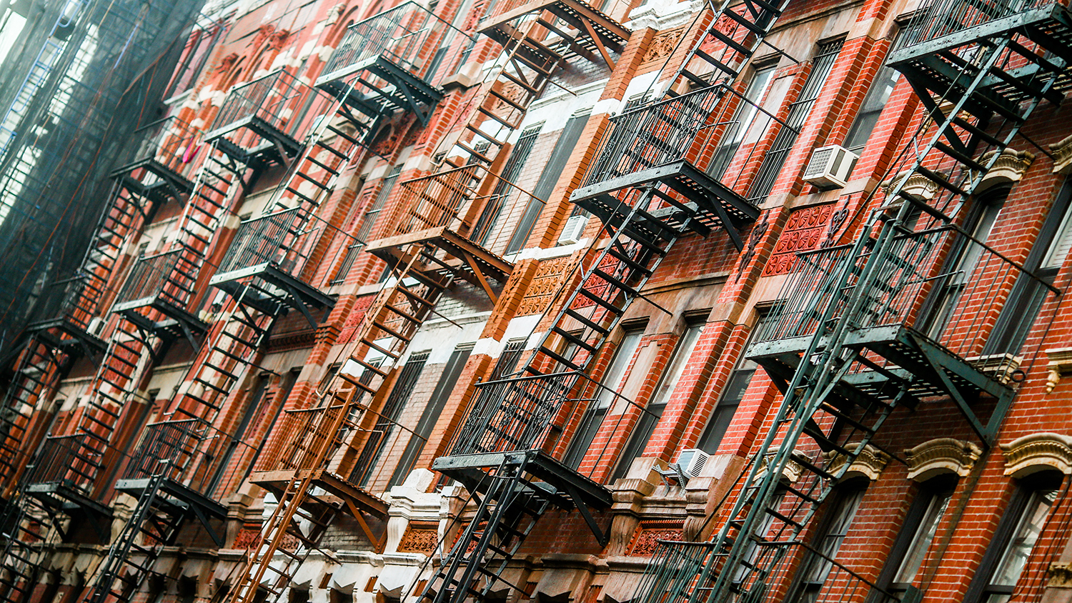 Beautiful photos of NYC's fire escapes