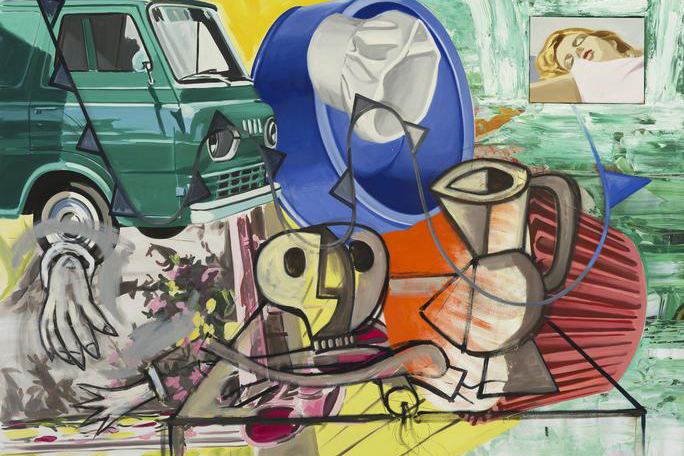 """David Salle: New Paintings"""