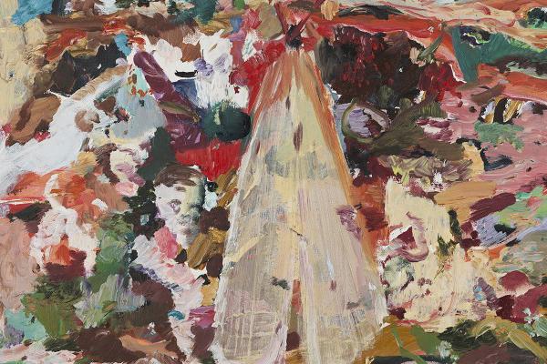 """Cecily Brown, """"The English Garden"""""""