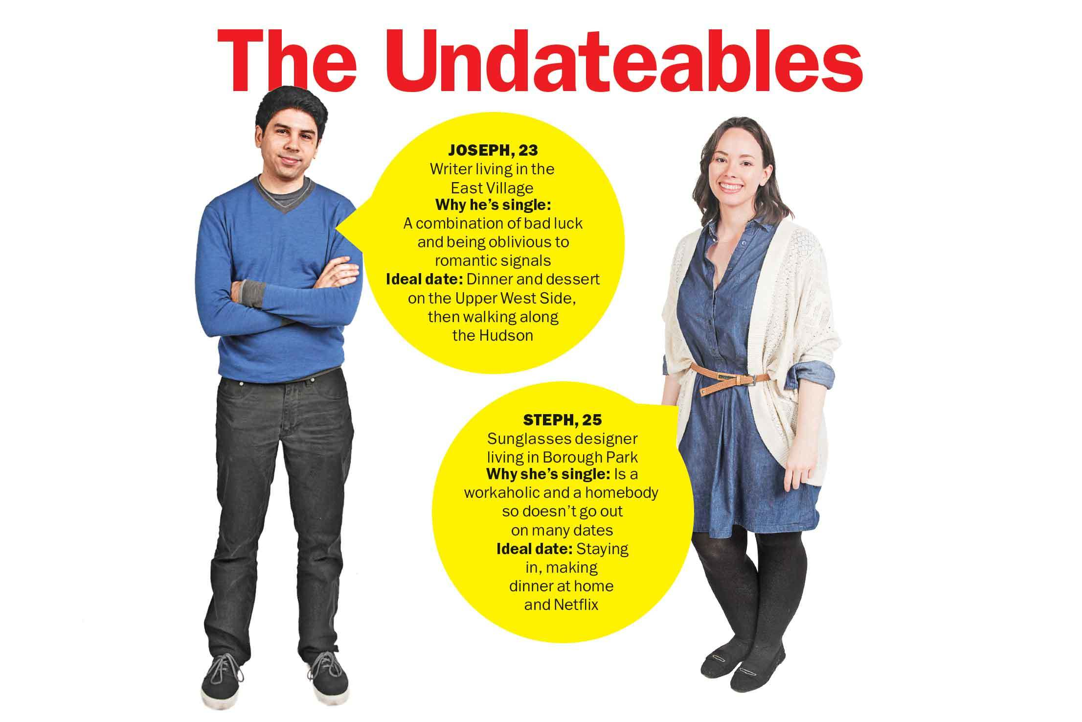 Meet The Undateables: Joseph and Steph