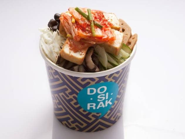 DoSiRak - Kimchi Tofu
