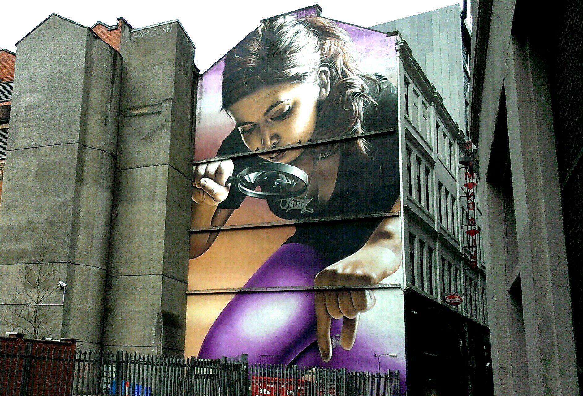 Glasgow Street Art - Mitchell Street