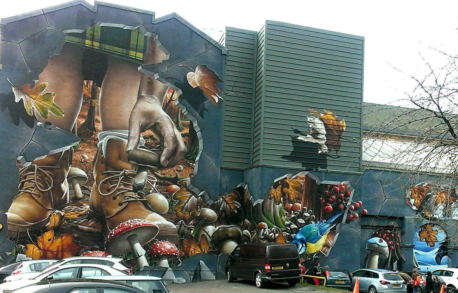 Glasgow Street Art - Ingram Street