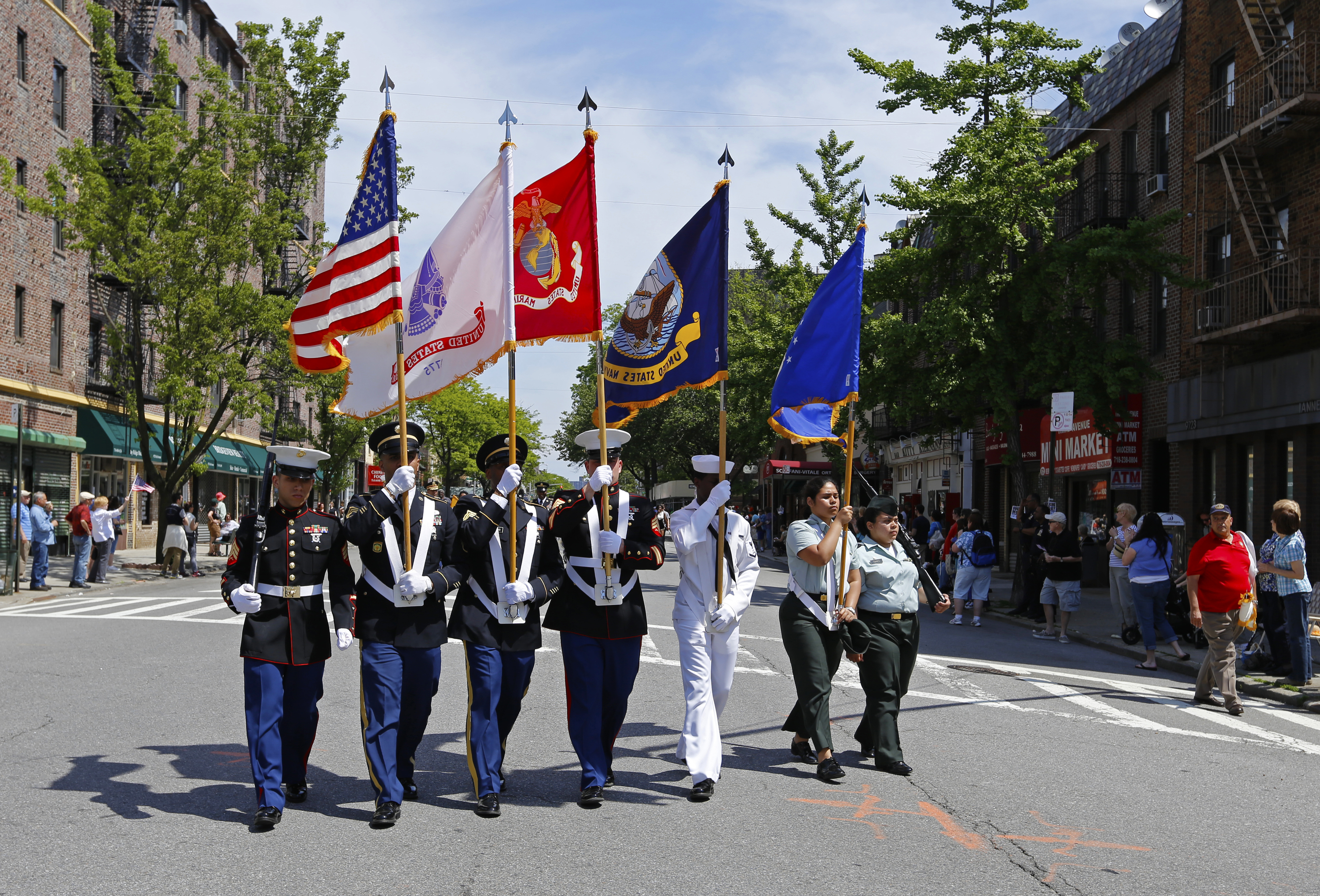 Guide to the Memorial Day Parade in NYC