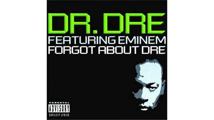 Dr Dre featuring Eminem – Forgot About Dre