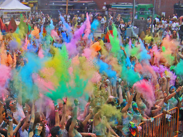 Festival of Colors: Holi NYC