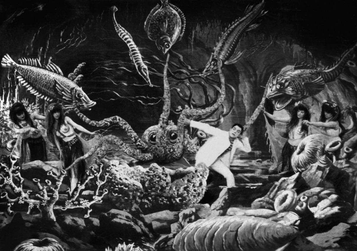 '20.000 leguas...' (1907), de Georges Méliès