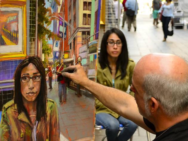 Artistas expões suas obras nas calçadas de Nova York em setembro