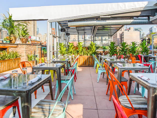 Non-douchey rooftop bars in NYC