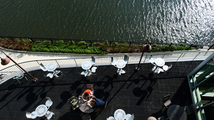 5 unexpected spots for waterfront dining