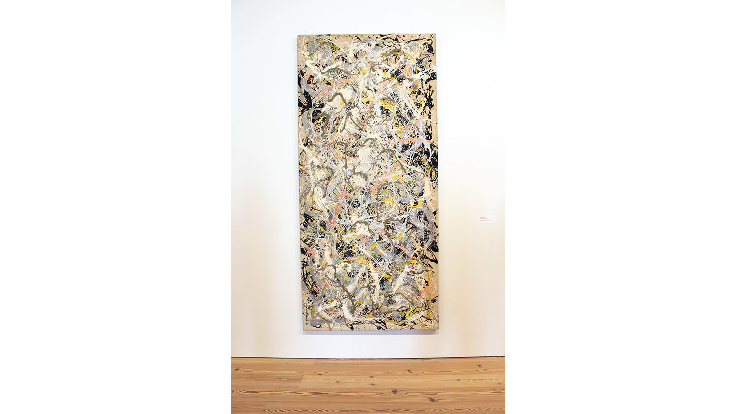 Whitney hangs Pollock sideways: Bonehead move or revisionist argument?