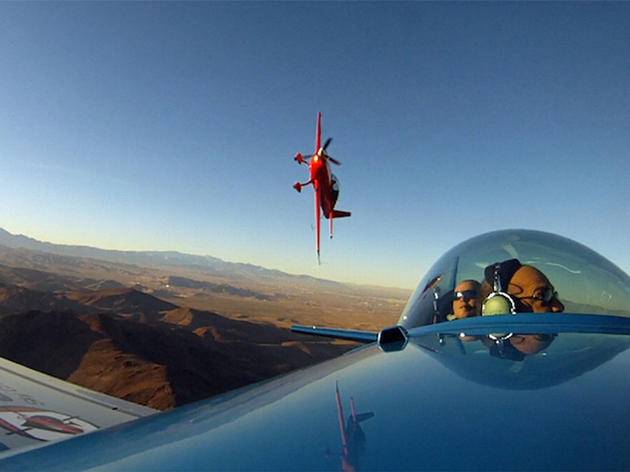 Fly an aerobatic plane in Las Vegas