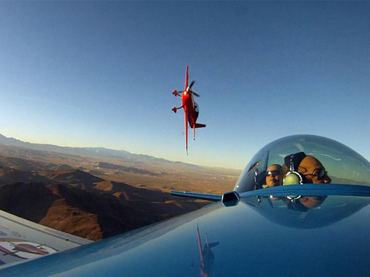 Flying an aerobatic plane | Las Vegas, NV