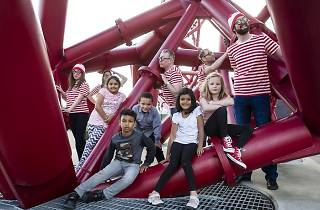 Where's Wally? at the ArcelorMittal Orbit