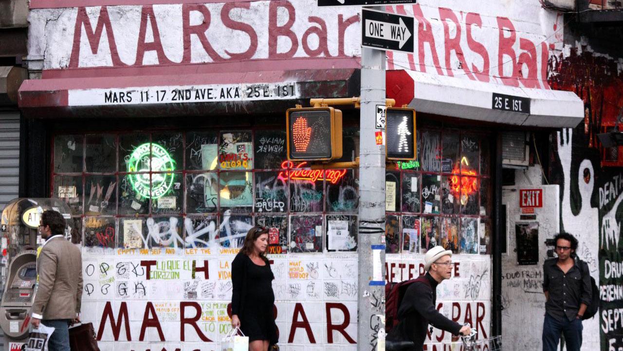 Mars Bar New York City