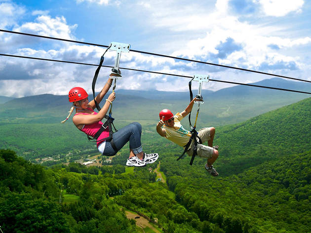 Ride North America's highest, fastest and longest zip line