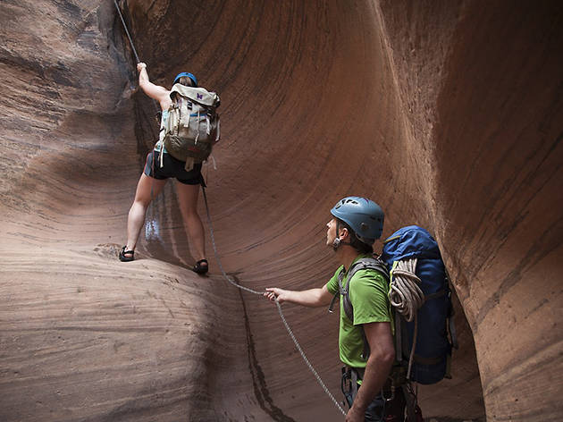 Canyoneer through Moab, Utah