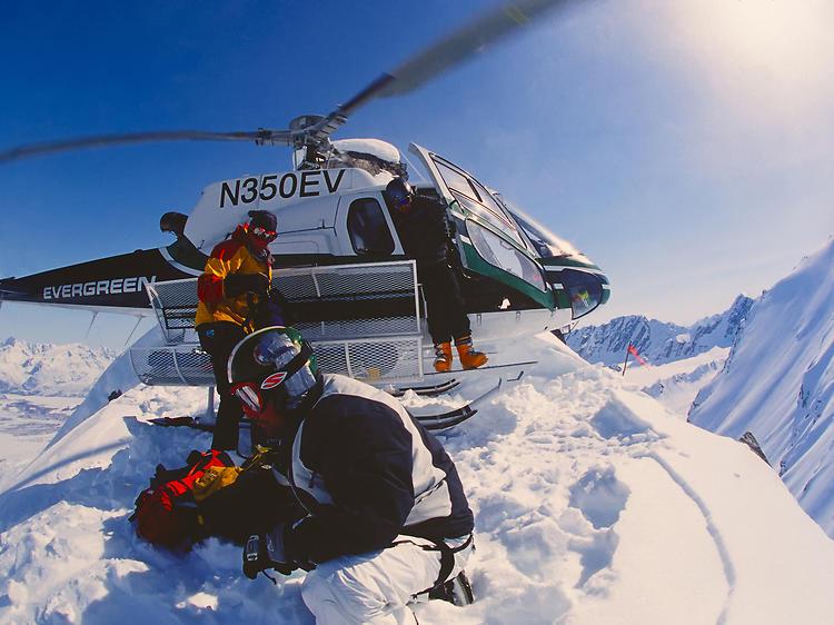Heli-skiing | Anchorage, AK