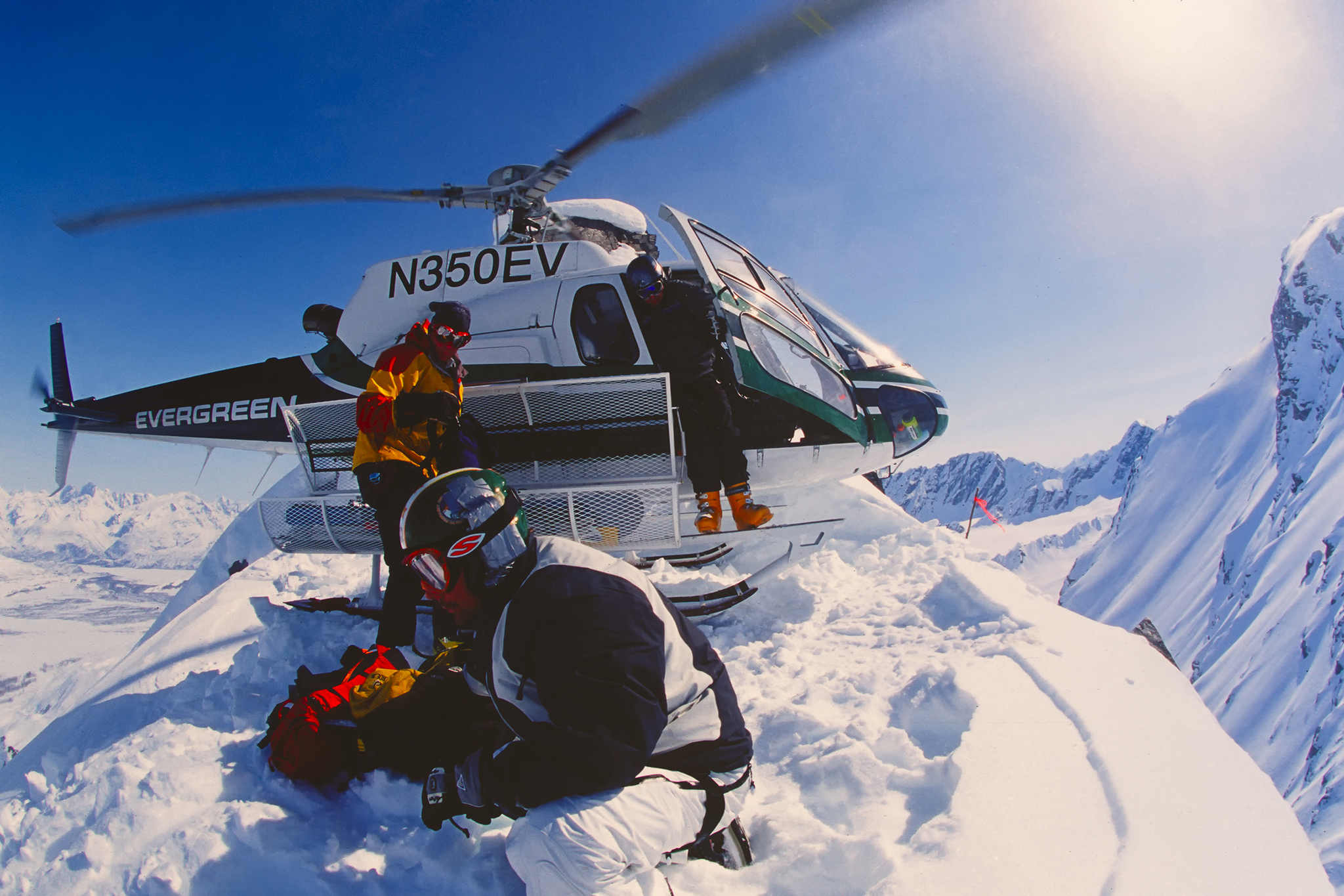 Heli-ski in Anchorage