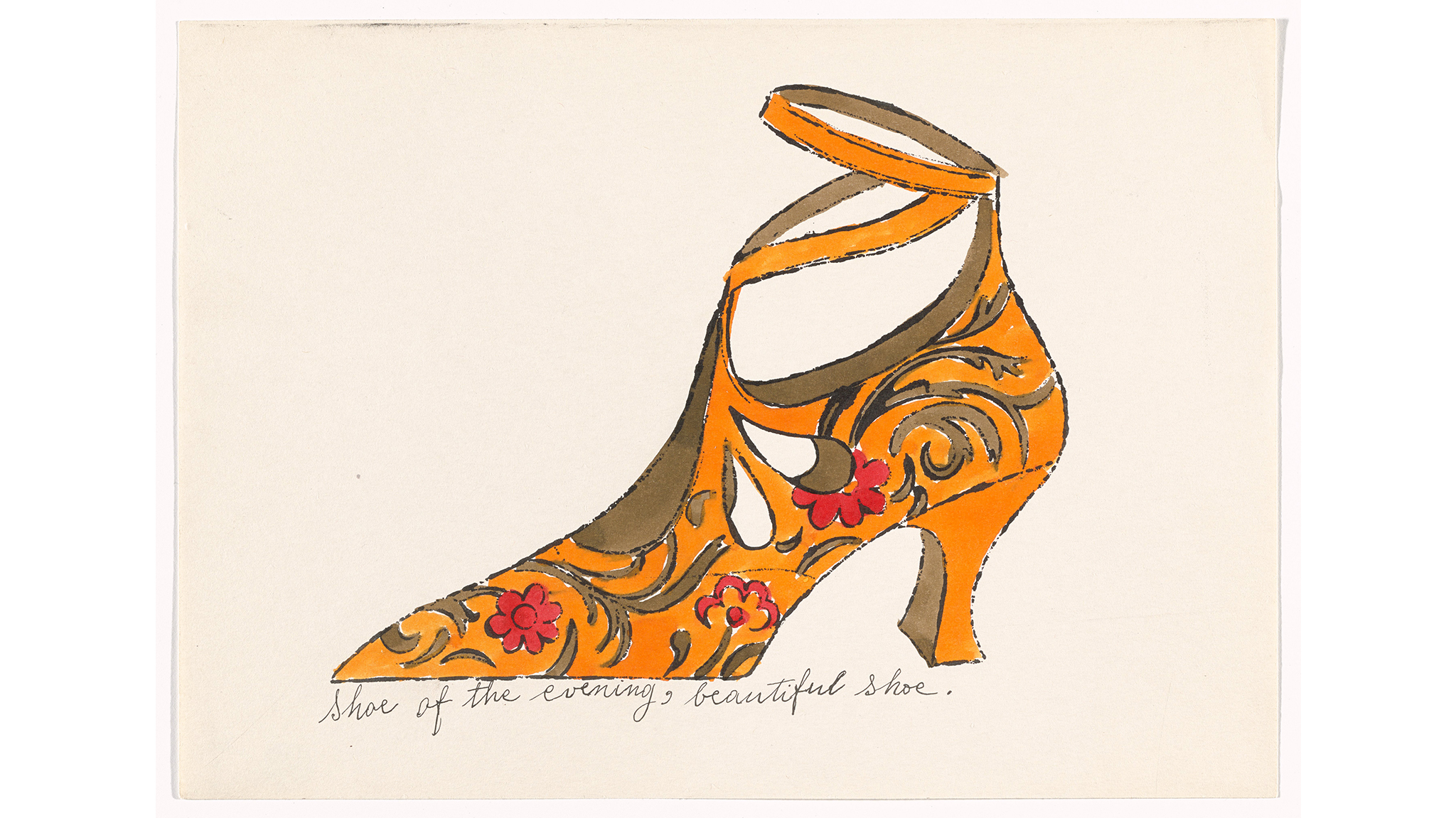 Andy Warhol, Untitled from À la recherche du shoe perdu, c. 1955