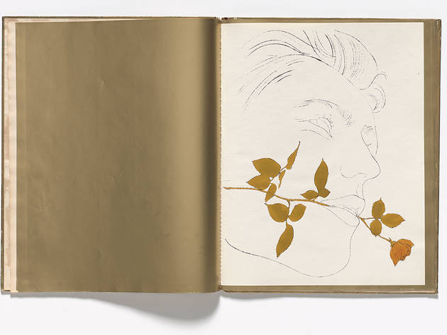 Andy Warhol, A Gold Book, 1957