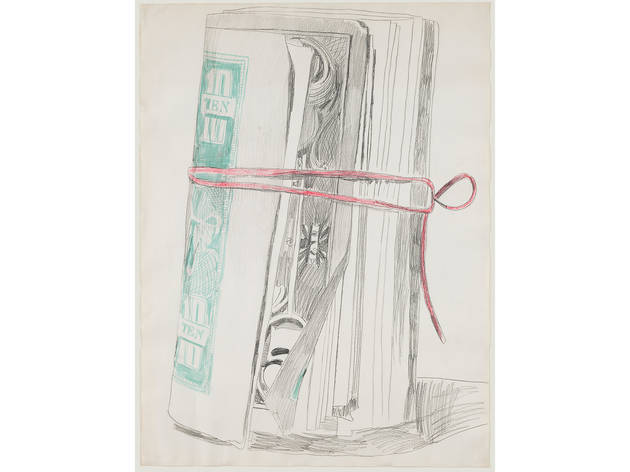 Andy Warhol, Roll of Bills, 1962