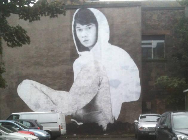 edinburgh street art hoodie