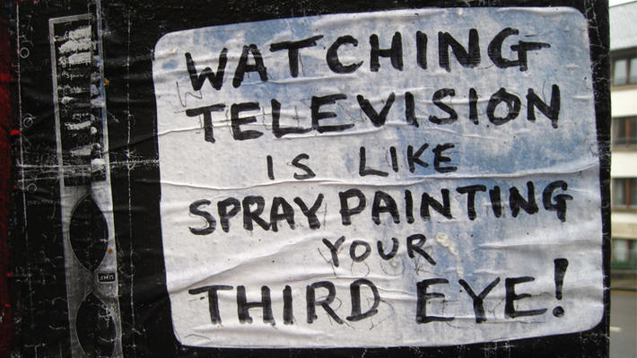 edinburgh street art television