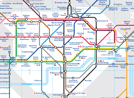 London rent prices by tube line