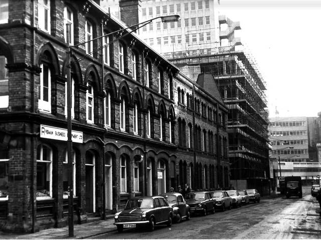 St Paul's Street Leeds 17th January 1974