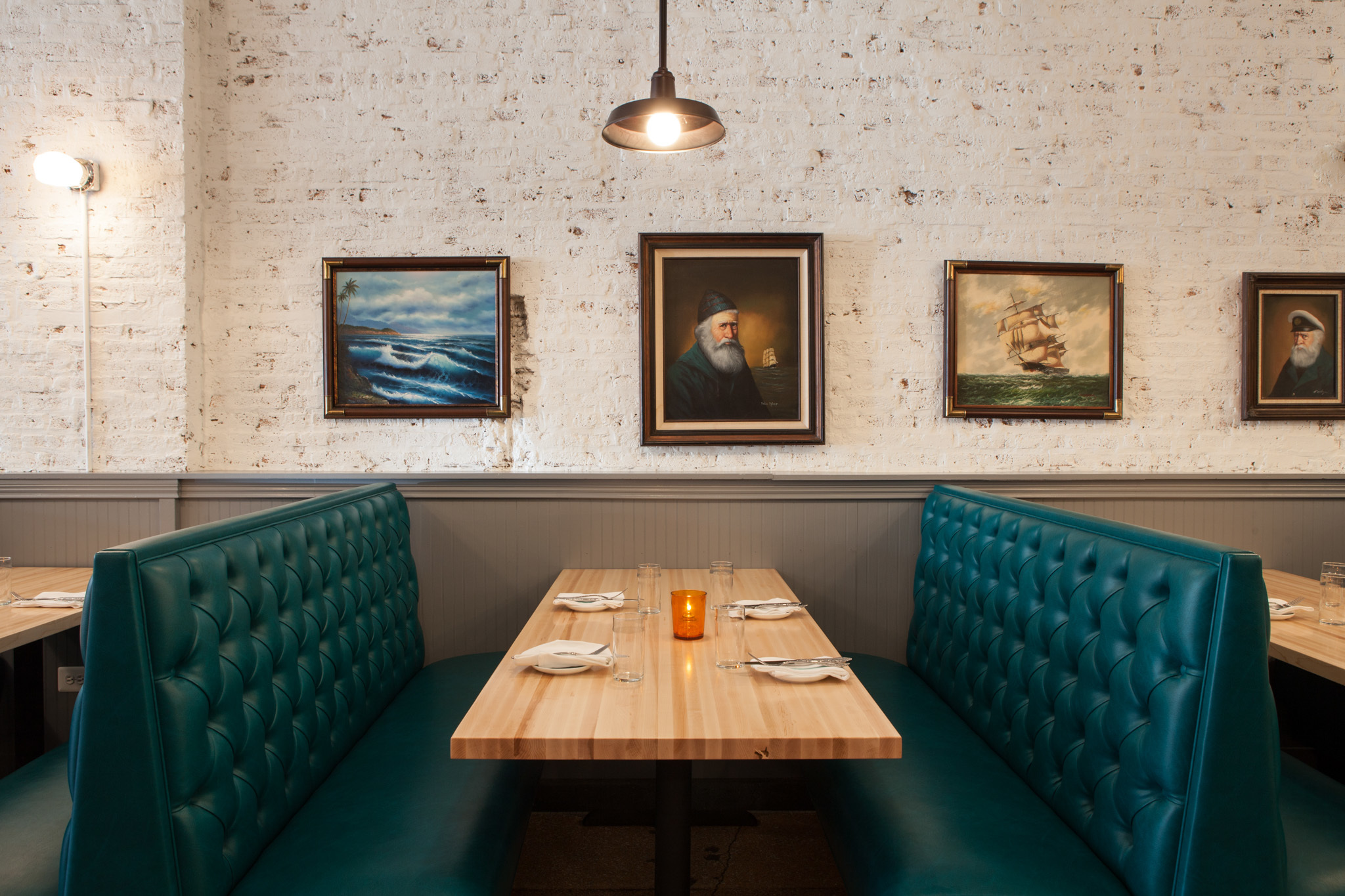 Sink | Swim is a seafood restaurant from the Scofflaw group.