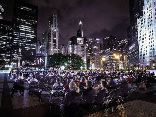 Pioneer Court will host an outdoor movie series in July 2015