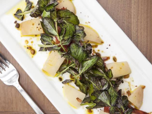 Burrata salad at Redbird
