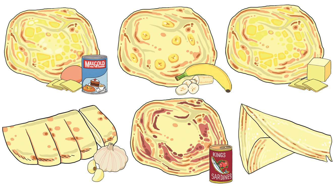 The 10 types of roti you'll find at the mamak